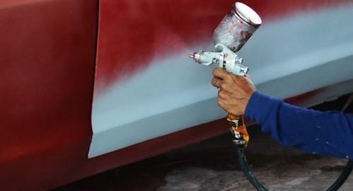 Canterbury-Spray-Painting