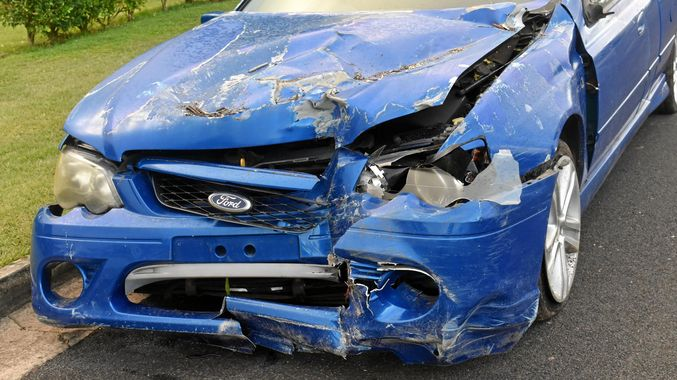 car bumper smashed ccc